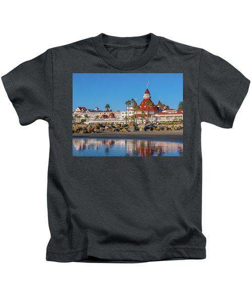 The Hotel Del Coronado San Diego Kids T-Shirt