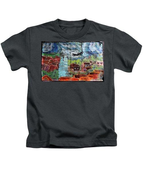 The Hues Brightened Life Seems Good Kids T-Shirt