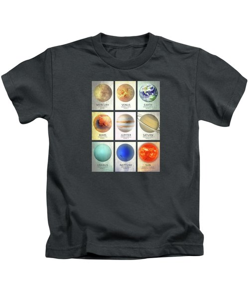 The Planets Kids T-Shirt