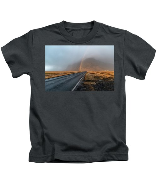 The Rainbow Road Kids T-Shirt