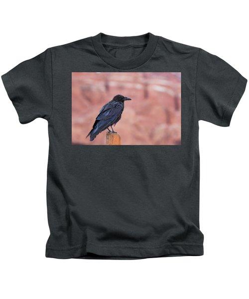 The Rainy Raven Kids T-Shirt