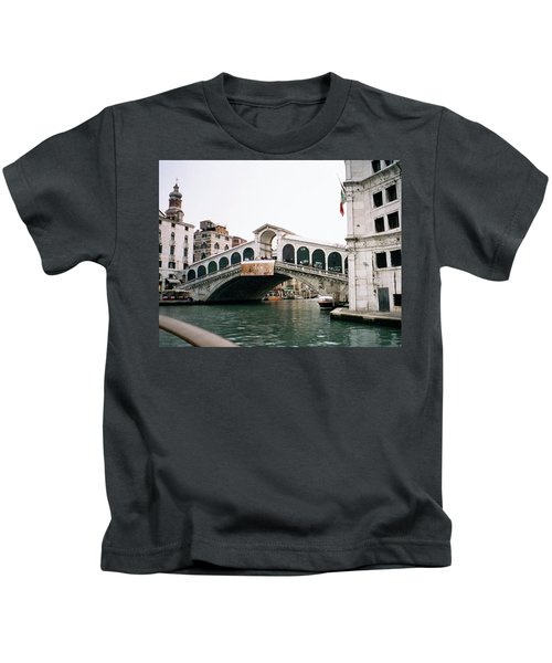 The Rialto Bridge  Kids T-Shirt