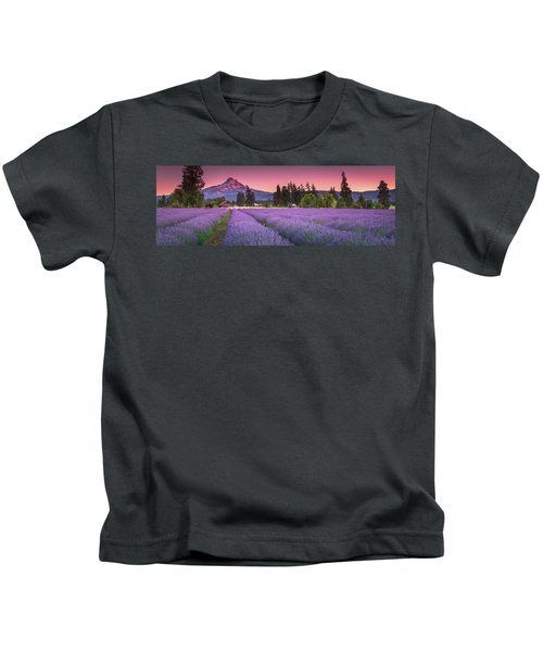 The Road To Mt Hood  Kids T-Shirt