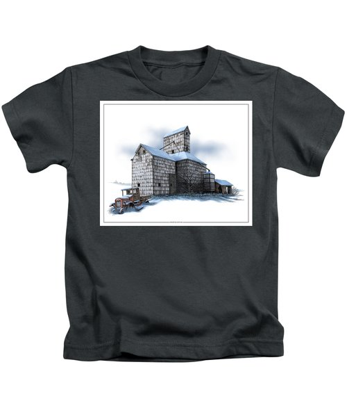 The Ross Elevator Winter Kids T-Shirt
