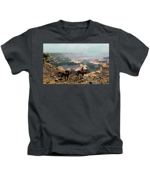 The Sinking Earth Kids T-Shirt