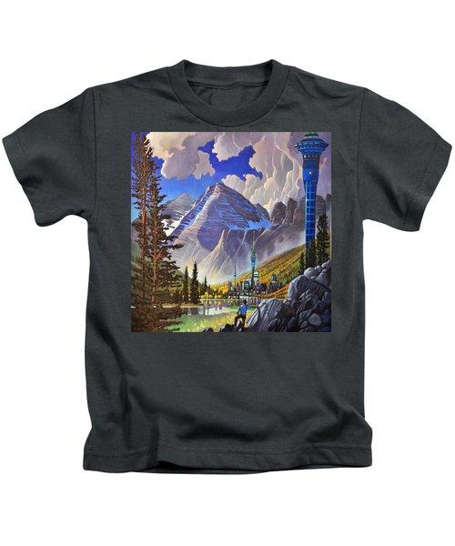 The Three Towers Kids T-Shirt