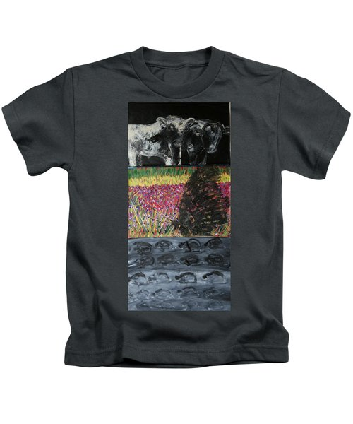 The Trickle Down Effect Kids T-Shirt