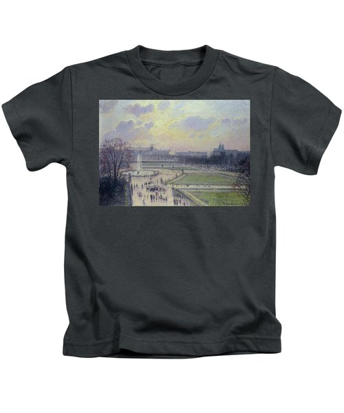 The Tuileries, Bassin - Afternoon, 1900 Kids T-Shirt