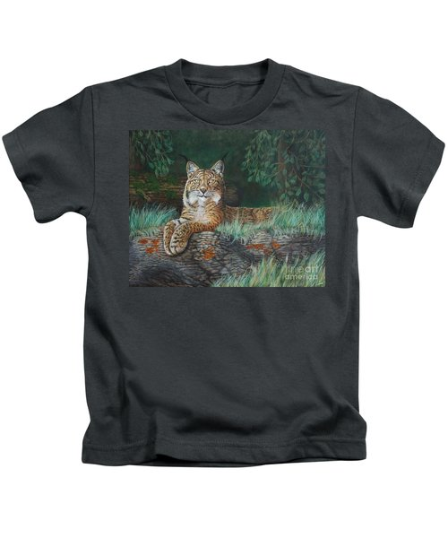 The Wild Cat  Kids T-Shirt