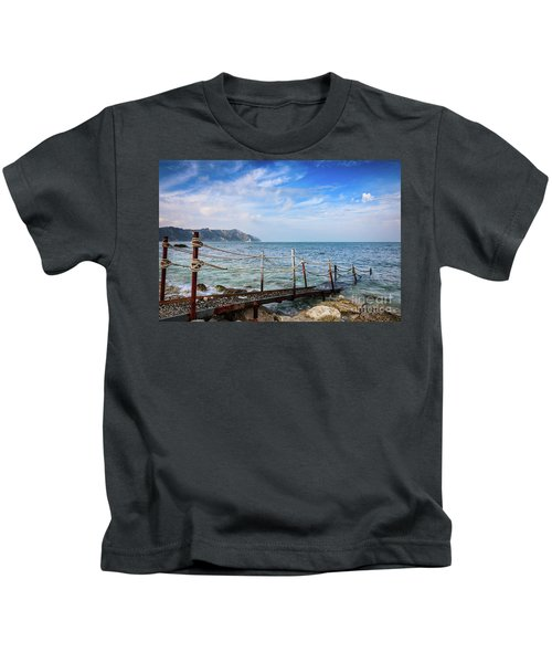 The Winter Sea #2 Kids T-Shirt