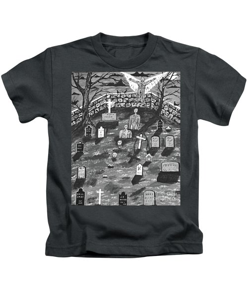 They Only Come Out At Night Kids T-Shirt