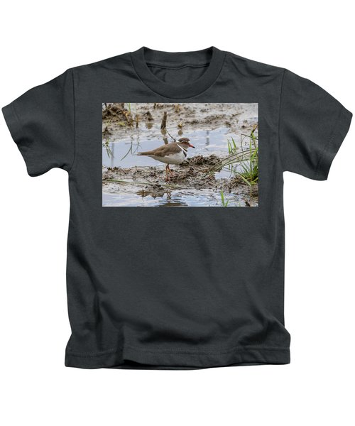 Three-banded Plover Kids T-Shirt