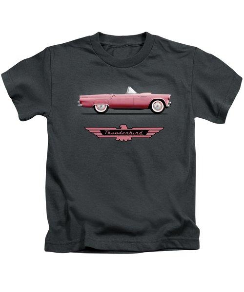 Thunderbird Pink Kids T-Shirt