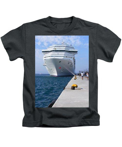Tied Alongside Kids T-Shirt