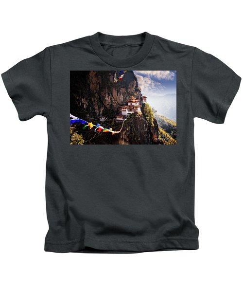 Tigers Nest 2 Kids T-Shirt
