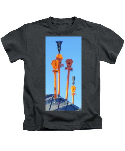 Tiki Palm Springs Kids T-Shirt