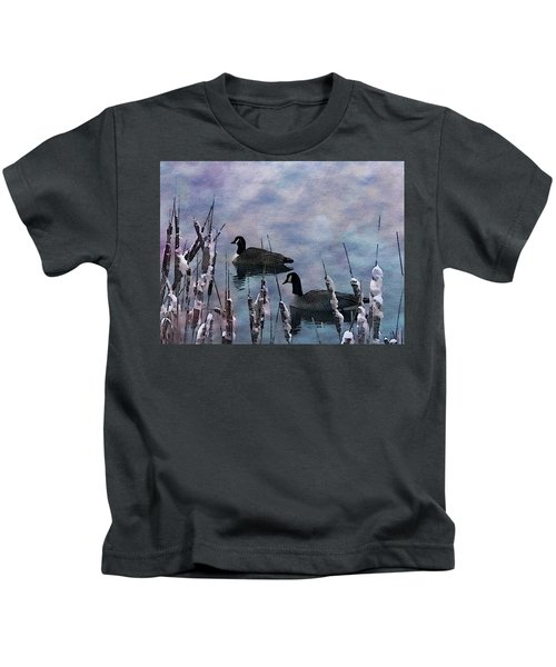 Time To Go South Kids T-Shirt