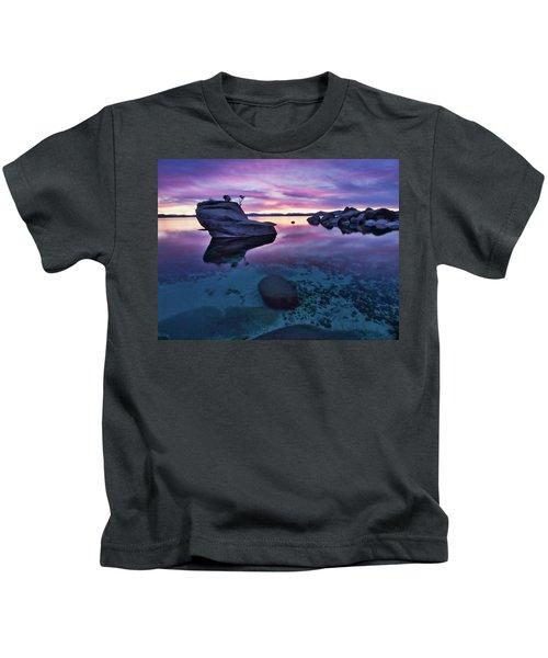 Transparent Sunset Kids T-Shirt