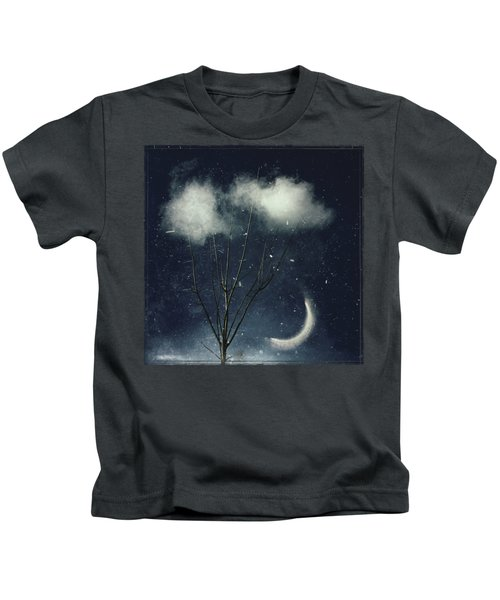 Tree In Clouds Kids T-Shirt