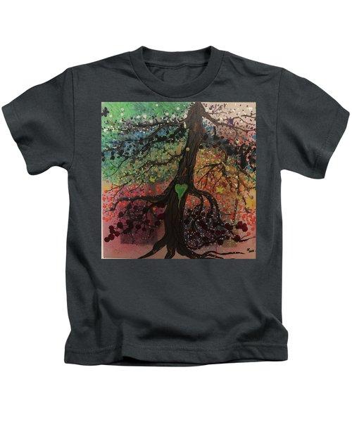 Tree Of Life Chakra Tree Kids T-Shirt