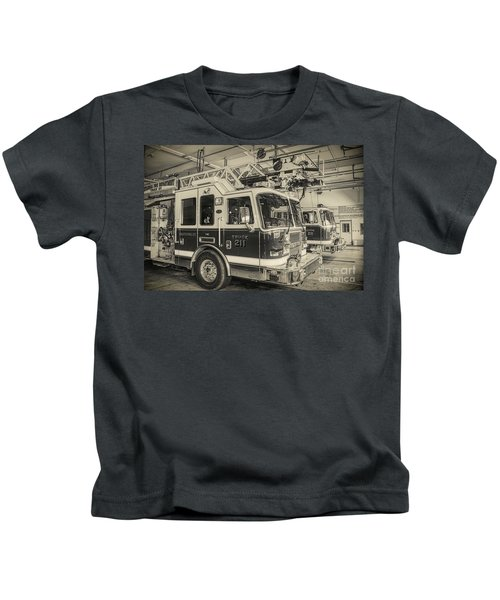 Truck And Engine 211 Kids T-Shirt