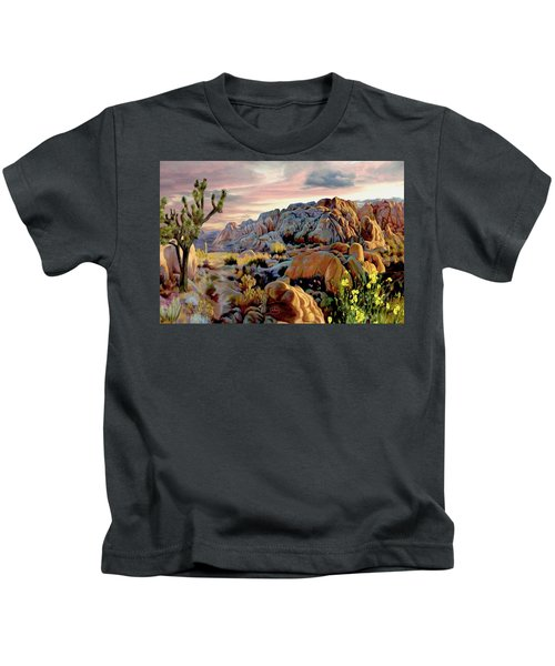 Twilight At Joshua Kids T-Shirt