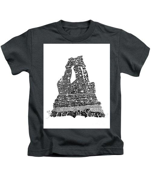 Unfinished Work - Druid Arch Kids T-Shirt