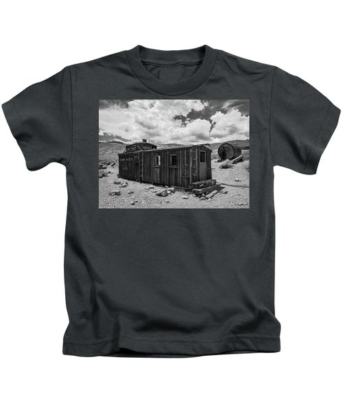 Union Pacific Caboose Kids T-Shirt