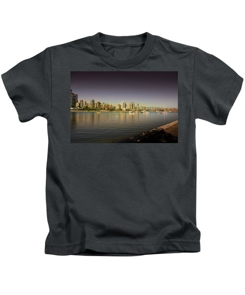 Vancouver In Magical Hours Kids T-Shirt