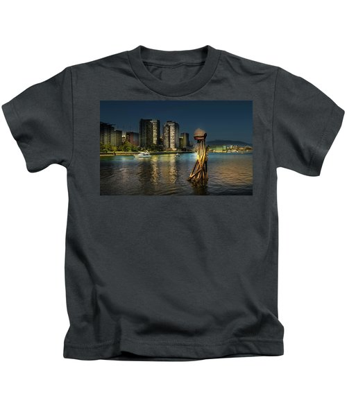 Vancouver Sunset Kids T-Shirt