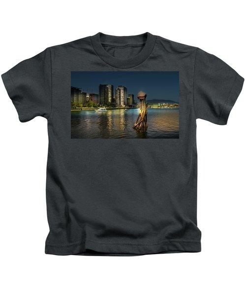 Vancouver Sunset Kids T-Shirt
