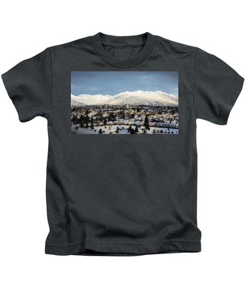 Vancouver Winterscape Kids T-Shirt