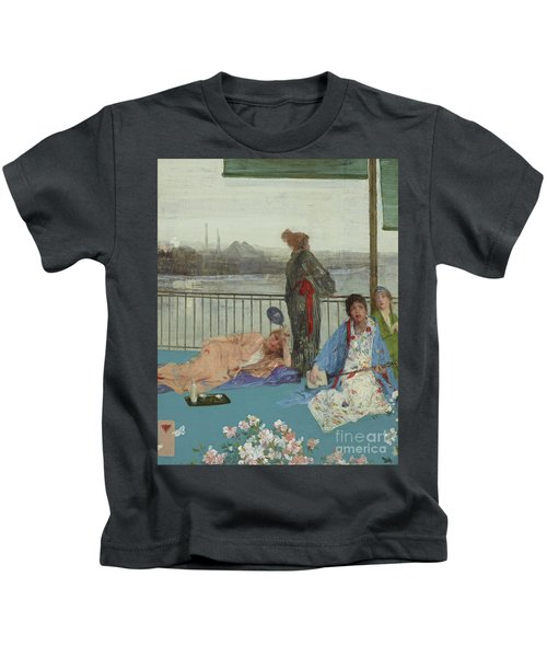 Variations In Flesh Color And Green, The Balcony Kids T-Shirt