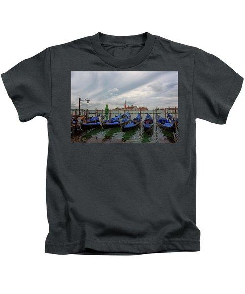 Venice Gondola's Grand Canal Kids T-Shirt