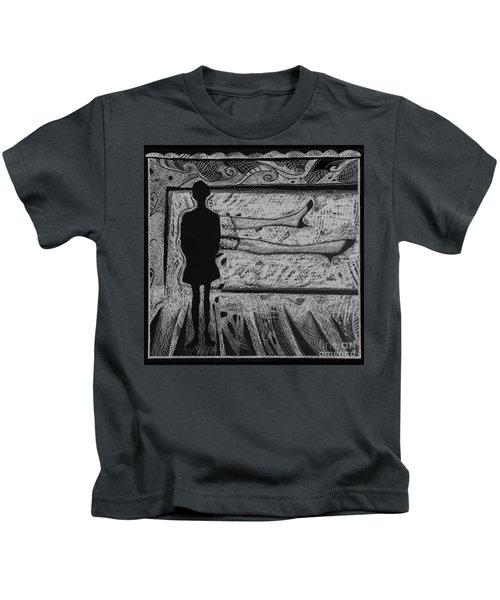 Viewing Supine Woman. Kids T-Shirt