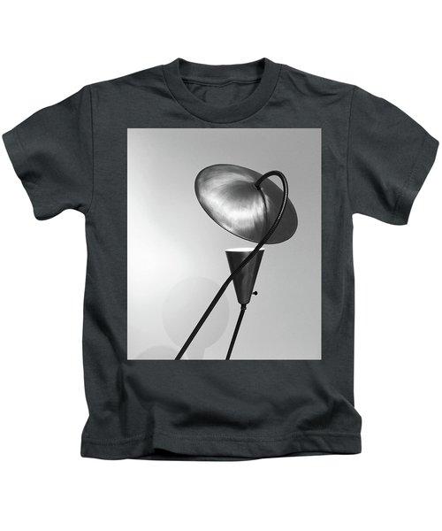 Vintage Metal Table Lamp Kids T-Shirt