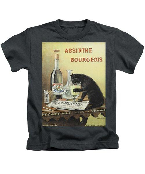 Vintage Poster - Absinthe Bourgeois Kids T-Shirt