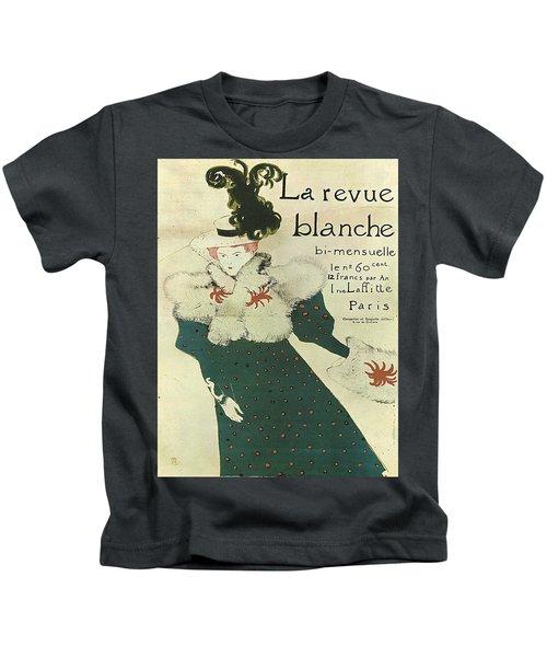 Vintage Poster - La Revue Blanche Kids T-Shirt
