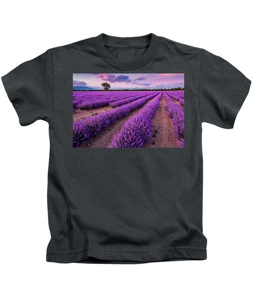 Violet Dreams Kids T-Shirt