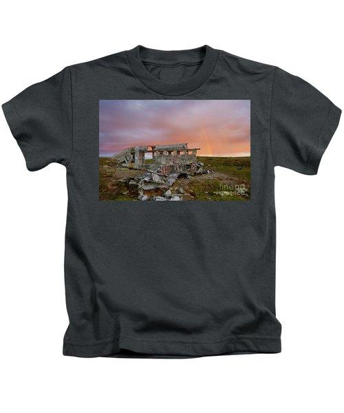 Waiting For A Fair Wind #4 Kids T-Shirt