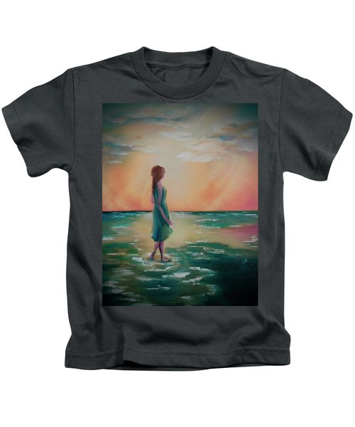 Walk Through Water Kids T-Shirt