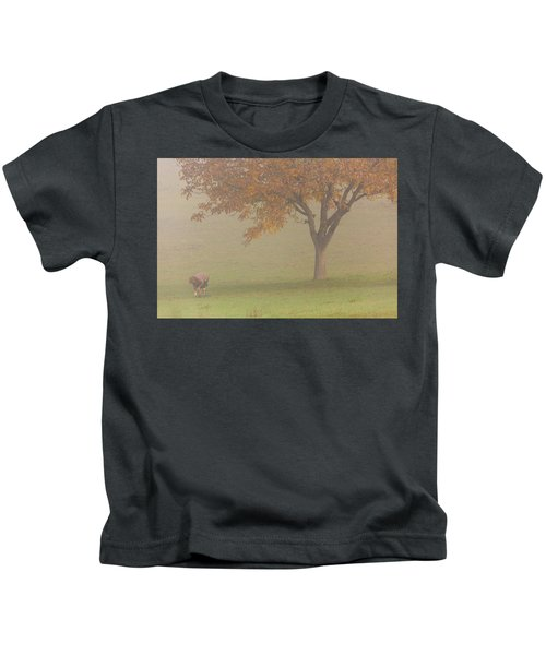 Walnut Farmer, Beynac, France Kids T-Shirt