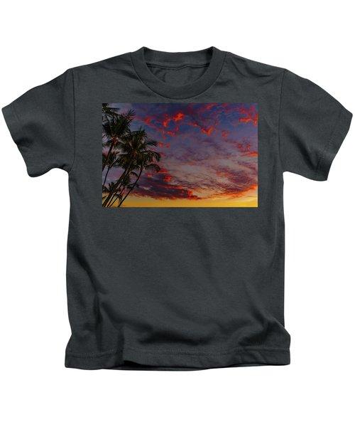 Warm Sky Kids T-Shirt
