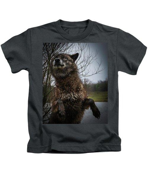 Watch The Eyes Kids T-Shirt