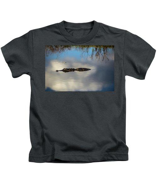 Watery Predator Kids T-Shirt