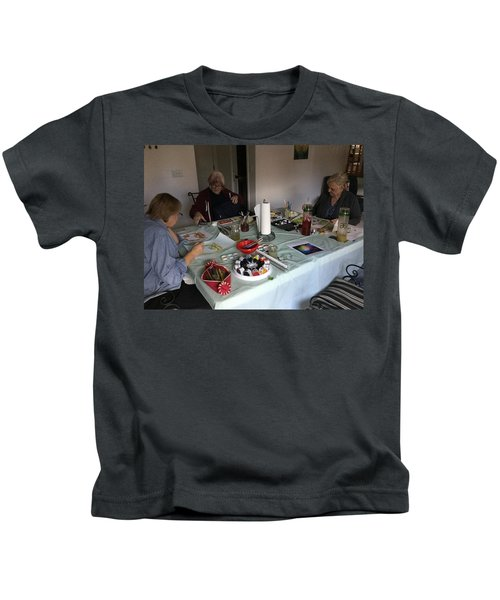 Watercolor Weekly Kids T-Shirt