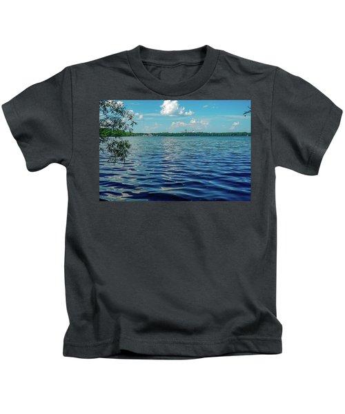Waves On Lake Harriet Kids T-Shirt