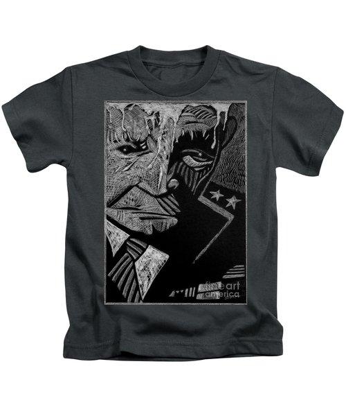 Weary Warrior. Kids T-Shirt