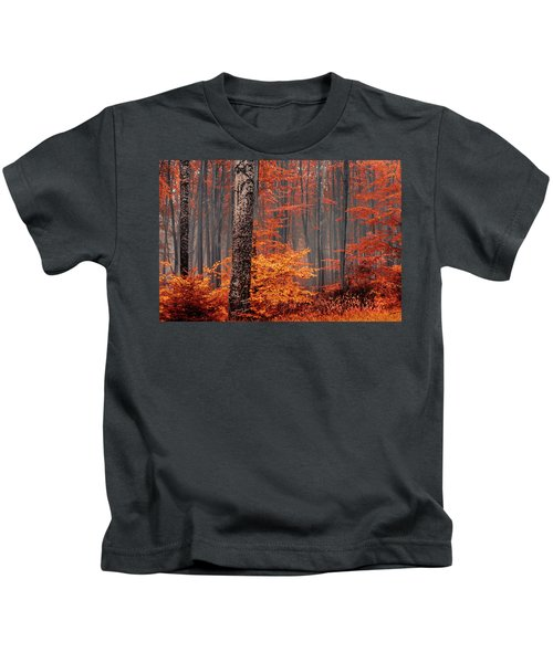 Welcome To Orange Forest Kids T-Shirt