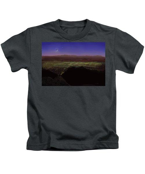 When Tucson's Lights Flicker On Kids T-Shirt